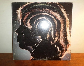 Vintage 1971 LP Record The Rolling Stones Hot Rocks 1964-1971 Two LP Set Excellent Condition 12379