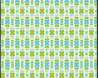 Kitchenette Honeydew, Color Me Retro by Jeni Baker for Art Gallery Fabrics 1 Yard Cut