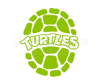 Ninja Turtle Shell SVG