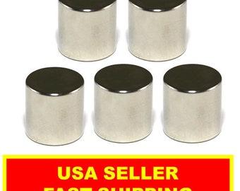 Neodymium Disc Magnet 1/2 Inch N52 Super Strong Rare Earth (5 Pack)