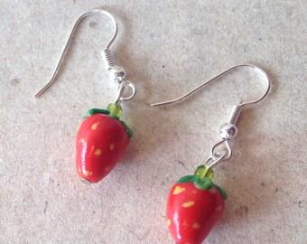 Earrings Strawbeery