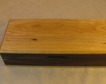 Toasted Ash and Cherry Jewelry Box - LB 110