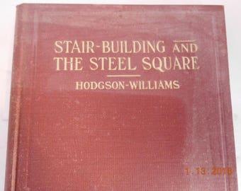 Vintage Book Stair-Building