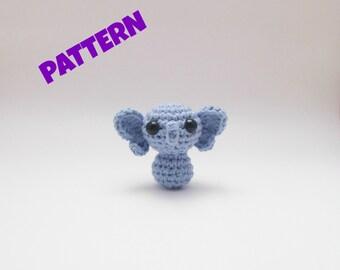 Amigurumi Elephant Pattern, Crochet Elephant Pattern, Crochet Animal Pattern, Amigurumi Crochet Animal Pattern, Amigurumi Animal Pattern