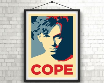 JULIAN COPE  |  The Teardrop Explodes  |  Portrait Art Poster Print