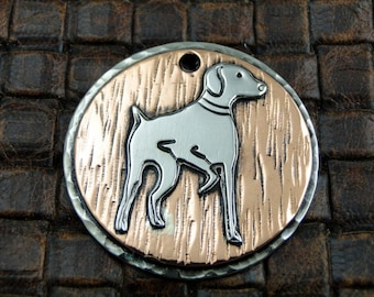 Pointer Custom Dog ID Tag,Dog Collar ID Tag,Personalized Pointer ID Tag,Dog Tag for Dogs