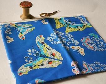 Designer fabric clearance/fabric destash/Fat quarter/Amy Butler/Alchemy/Queen Ann's butterflies