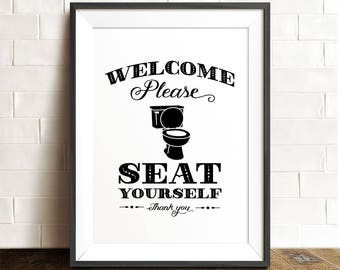 Hilaire image in funny bathroom signs printable