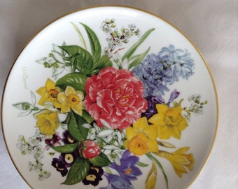 Limited Edition Hutschenreuther Spring Morning plate