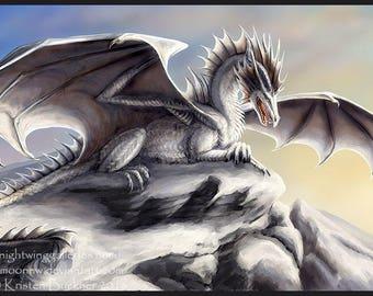 Snowcap Guardian - Fine Art Print