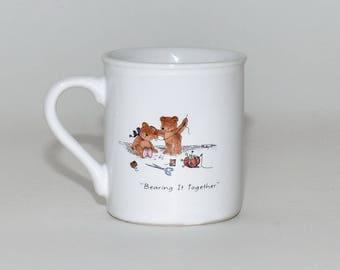Hallmark Mugmates Bear Friends Coffee Tea Mug