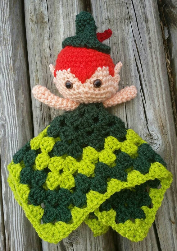 Peter pan crochet lovey doll pattern only peter pan crochet lovey doll pattern only blanketamigurumitoystuffed animalhooklost boys dt1010fo