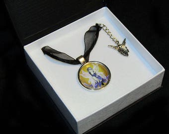 Believe Fairy Pendant with charm - boxed