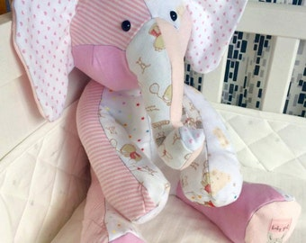 Baby Clothes Cuddly Memory Elephant