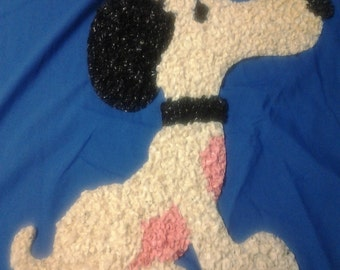 Snoopy Plastic Wall Art
