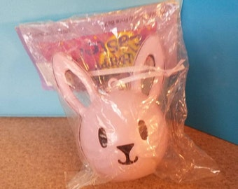 Happy Easter Rabbit Face Bell