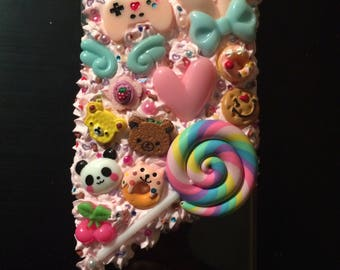 Kawaii decoden phone case for iPhone 6 PLUS - PINKITYPINK 2