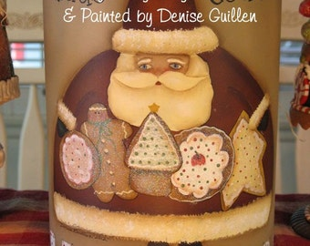 Santa's Cookies by Denise Guillen, email pattern packet!