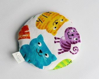 Boo Boo Ice Pack, All Better Bag, Ice Pack, Round, Kitties #05165