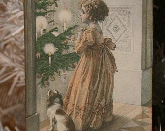 Victorian Christmas Eve Gift Tags