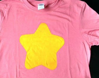Red Shirt with Yellow Star based on Steven Universe