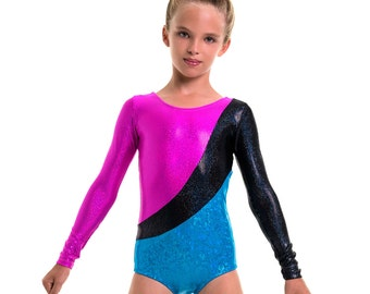 Leotard pattern PDF, gymnastics leotard pattern, leotard sewing pattern, dance costume, ballet pattern, long sleeve leotard LEOTARD #11