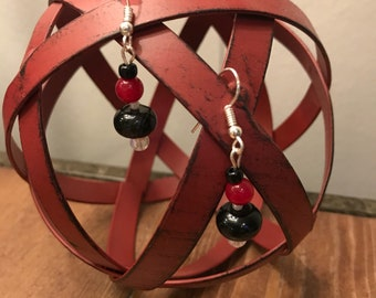 Red and Black Bead