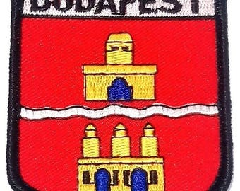 Budapest Embroidered Patch