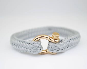 GREY & gold | Sailing bracelet - Custom and Handmade