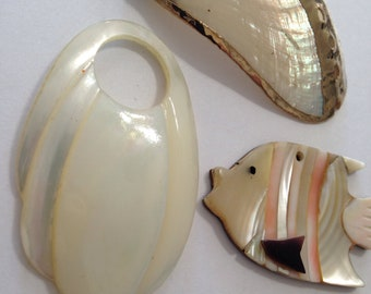Wholesale Lot of Shell Charms