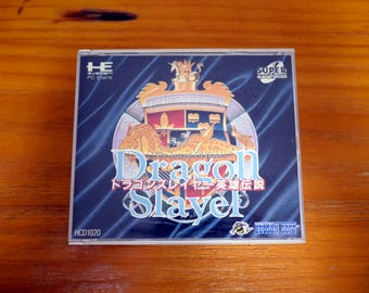 Authentic PC ENGINE CD Dragon Slayer: The Legen od Heros [Japanese, 1991]