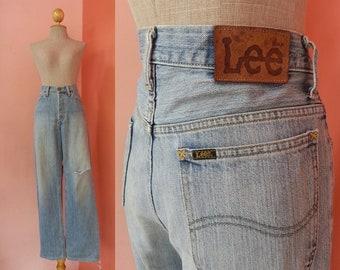 LEE Jeans 31 Waist | Vintage Jeans Women | Womens Jeans Vintage | High Waisted Jeans | Long Jeans | Denim Pants Large L