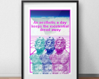 An aesthetic a day Print (See item description)