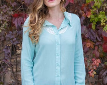 SALE: Stacy loose fitted ladies blouse