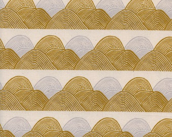 PRESALE:Headlands in Golden Hour (cotton) from Imagined Landscapes by Jen Hewett for Cotton + Steel