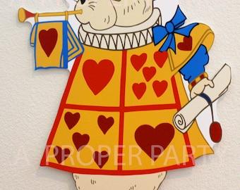 Vintage White Rabbit - Vintage Alice in Wonderland - Vintage Wonderland - Wonderland party - Wonderland Decor - Alice in Wonderland