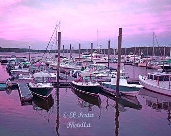 Sunset on Maine Coast #2