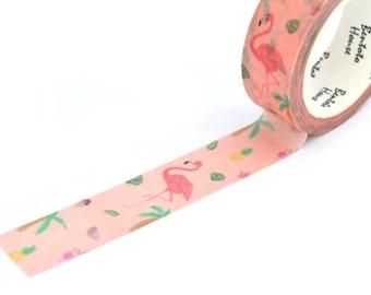 Masking tape Flamingo pineapple 15 mm