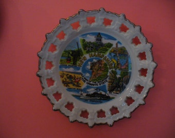 "8 1/4"" New Hampshire Souvineer Plate"