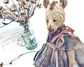 Teddy Horse, OOAK, Artist Teddy bear, vintage style horse,OOAK Teddy bear, Old style horse, Soft toy, Stuffed horse, Artist horse