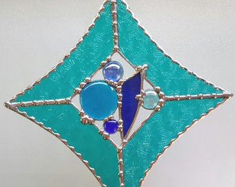Stained Glass Leadlight Suncatcher
