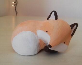 Modelling clay - Little fox