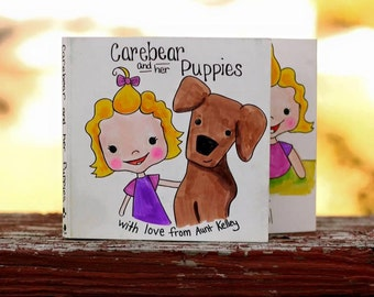 Custom Illustrated Children's Board Book