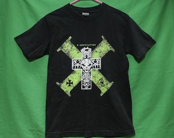 VTG 90s DX Shawn Michaels T-Shirt Small D Generation X WWF World Wrestling Federation Vintage Retro Rare New