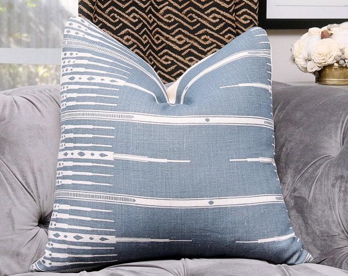 Peter Dunham-Tangiers Indigo-Peter Dunham-Accent Pillow-Throw Pillow