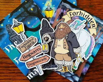 Forbidden Forest Die Cuts ~ Hand Drawn Inspired Die Cuts for Planners, Traveler's Notebooks, Scrapbooking and more!