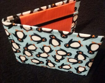 Penguin Duct Tape Bifold Wallet