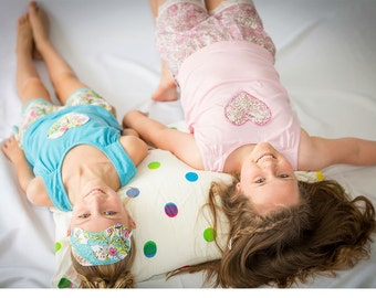 Girls pj pattern, girl's pyjama pattern, girls sewing pattern, girls pajamas pattern, girl's sleepwear pattern, pj's pattern, PRIMROSE PJ'S