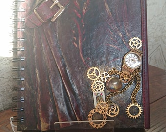Steampunk Theatre A5 blank Sketchbook Queen of the stagev