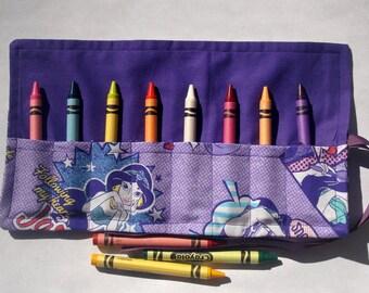 Crayon Roll Up Crayon Holder Princess Jasmine - Holds 8 Crayons